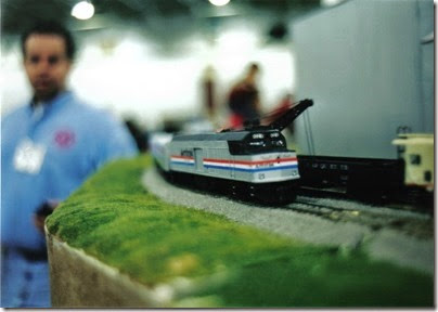 01 SOME Alumni Modular Layout at Train Fest in November 2002