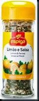 Limão e salsa Espiga