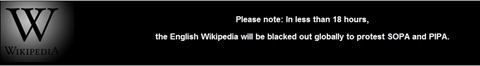 Wikipedia SOPA Protest