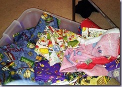 sewing themed fabric stash w