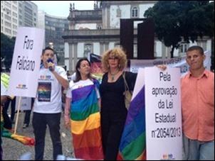 Rio de Janeiro manifestação cura gay  02