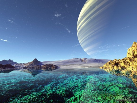 This is quite a nice alien world, I imagine. If there were oxygen, that is.