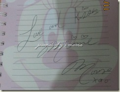 minnie signature
