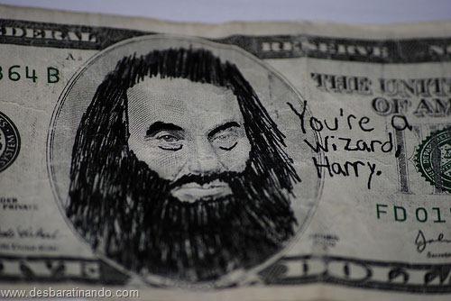 notas cédulas dollar geek nerd zoada desbaratinando  (4)