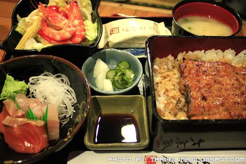 【台中日本料理推薦】大東屋鰻魚飯專賣店~生烤活鰻日式料理店