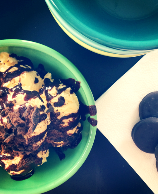 Girl Scout Cookie Thin Mint Sundae | Shan Made