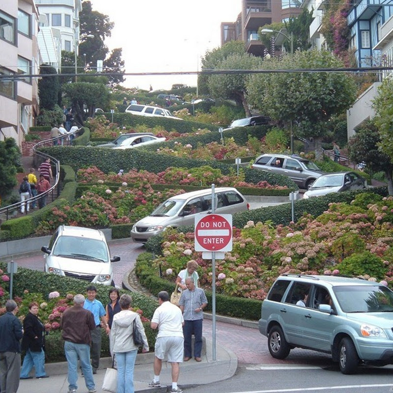 Lombard Street–World's Most Crooked Street?