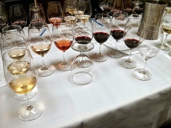 A range of Clos du Soleil wines