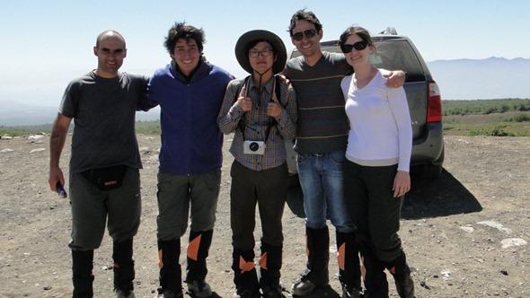 O argentino, o chileno, o coreano, o Eduardo e eu