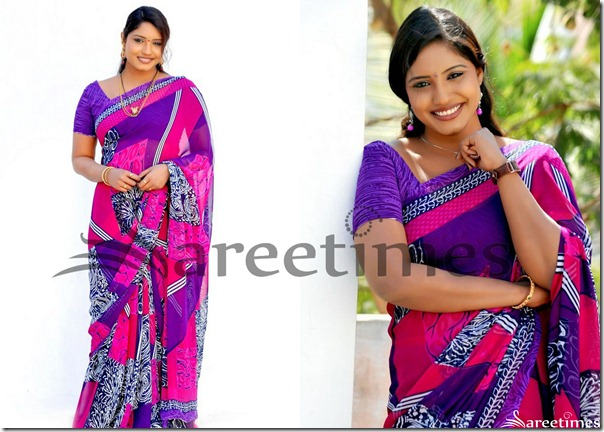 Roja_Printed_Georgette_Saree