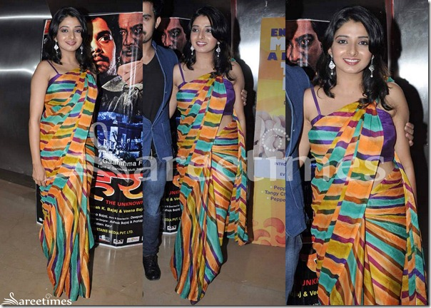 Multicolor_Printed_Stripes_Saree