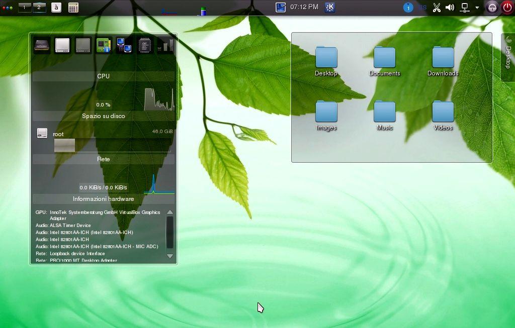 Bluestar Linux KDE