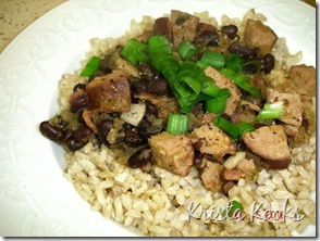 Krista Kooks Cajun Red Beans and Rice 2