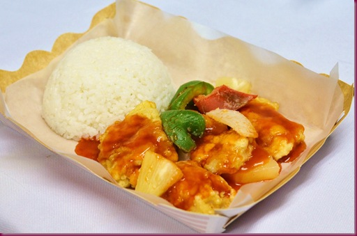Sweet & Sour Fish Rice