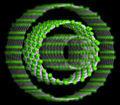 ilustração de um transistor quântico
