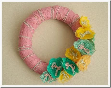 Spring Fling Wreath DIY