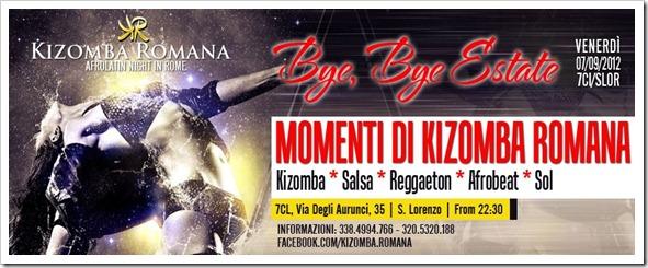 Momenti di Kizomba a Roma