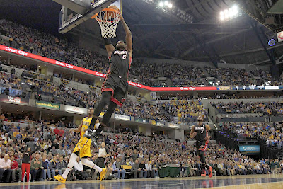 lebron james nba 140326 mia at ind 03 LeBron James Uses Safari Soldier 7s in a Loss vs. Pacers