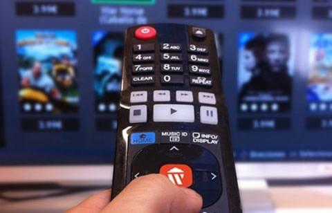 alquilar una película desde un Smart TV