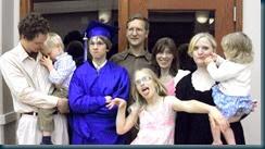 Stephen's 8th Grade Graduation Fam Picture