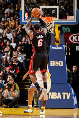 lebron james nba 130116 mia at gsw 27 King James Becomes Youngest to 20k Points in LeBron X PE