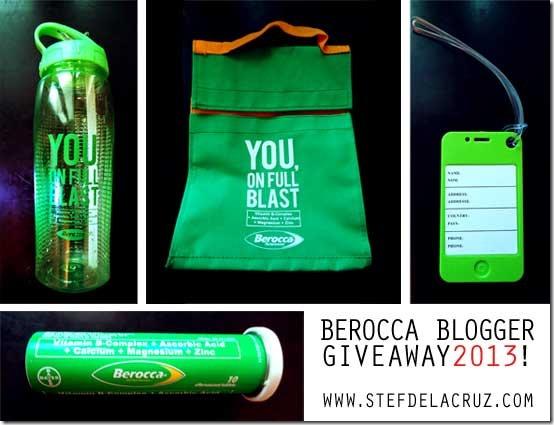 Berocca Blogger Giveaway 2013