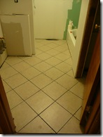 New Tile Floor