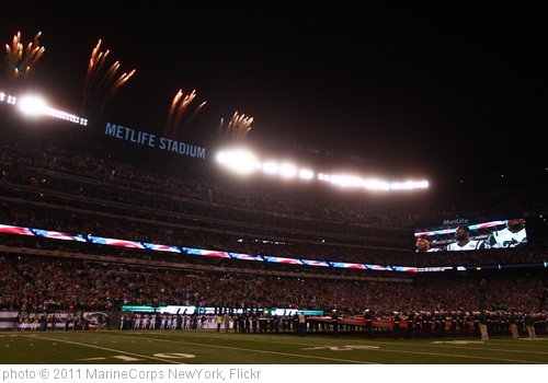 'New York Jets Military Appreciation Ceremony, 2011' photo (c) 2011, MarineCorps NewYork - license: http://creativecommons.org/licenses/by/2.0/