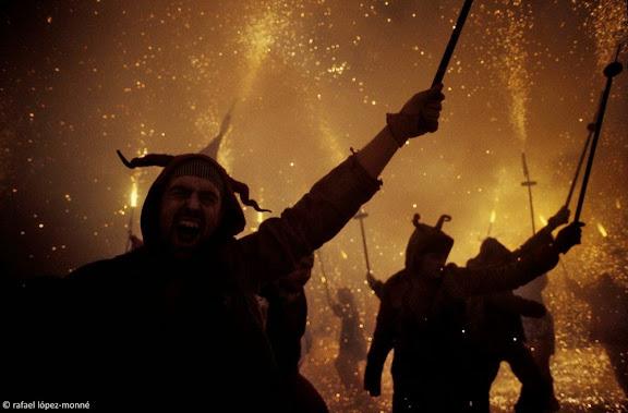 Trobada de Diables Centenaris.Correfoc conjunt. Diables de l'ArboçVilafranca del Penedès, Alt Penedès, Barcelona1995