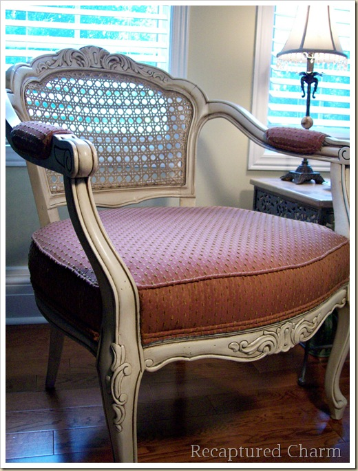 louis cane back chairs 085a