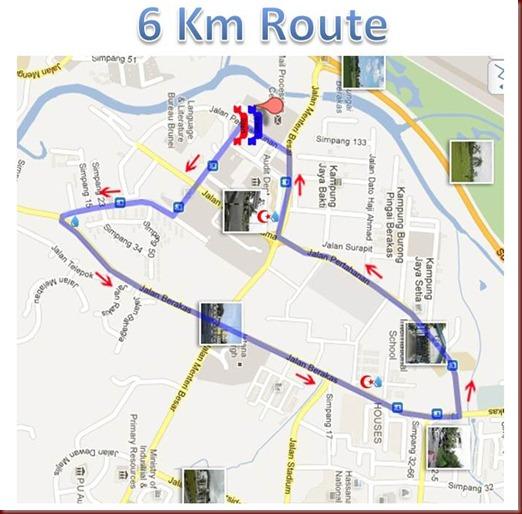 ozone 6km route  wtrnRedcrsnt