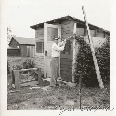 Hank and the shed