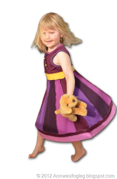 girl's dress inspired by Katwise's style