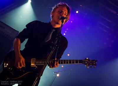 Leprous au Hellfest 2013