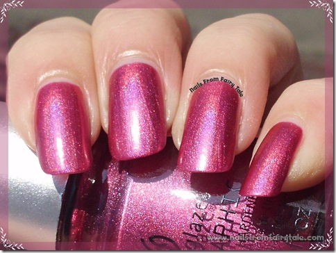 China Glaze Hologlam Collection – Infra Red