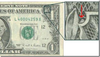 curiosidades del dólar