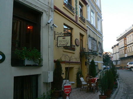 Sights of Turkey: The traditional architecture boutique hotels district