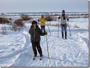 Лыжи 120
