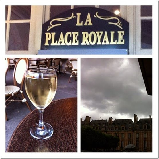 La Place Royale picstitch