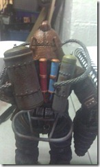 Subject Delta NECA Figure Back