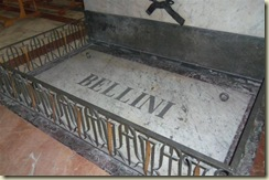 Grave of Composer Bellini Cathedral (Small)