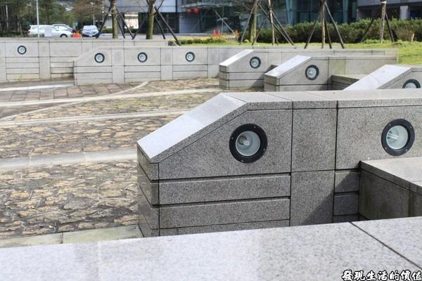南港軟體園區的裝置藝術
