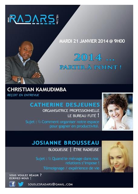 Émission Sous Les Radars du 21 janvier 2014