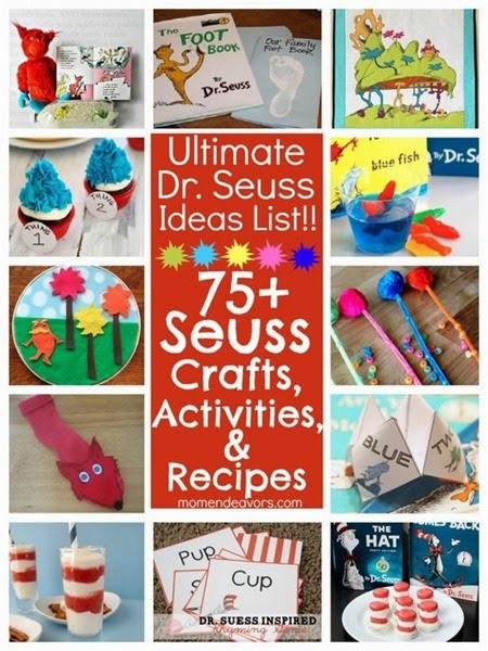 Dr Seuss activities 75 Motherhod Endeavors