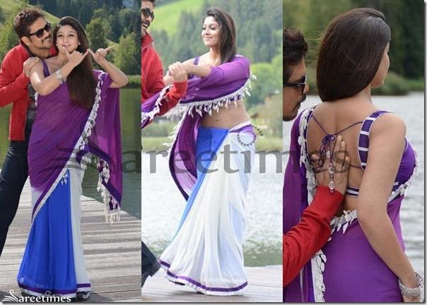 Nayanthara_Tricolor_Georgette_Saree[4]
