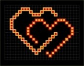 4222580-valentine-pixel-hearts-couple-vector-illustration