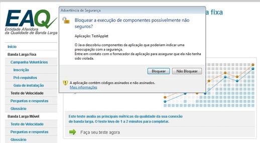 TESTE CONFIÁVEL DE VELOCIDADE DA INTERNET  - BRASIL BANDA LARGA - RECOMENDADO PARA FAZER O TESTE EM SEU VELOX - 3
