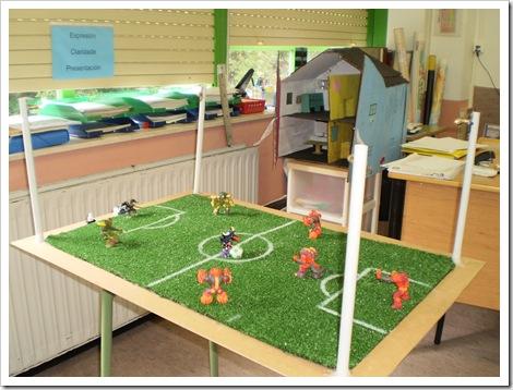O campo de fútbol de Daniel Ondina e Rubén Seoane