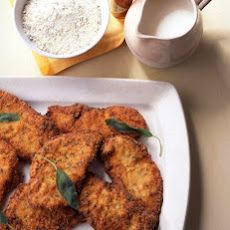 Breaded Chicken Cutlets with Sage