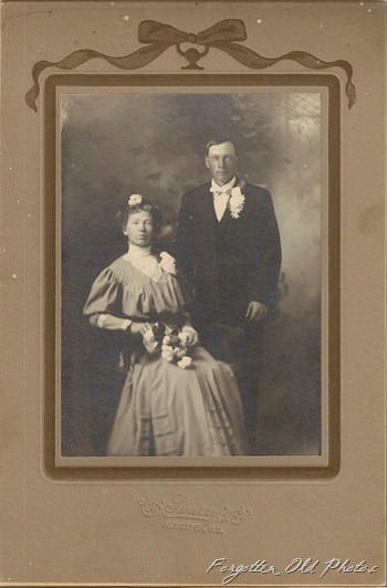 Wedding photo Allcester SD from DL Antiques